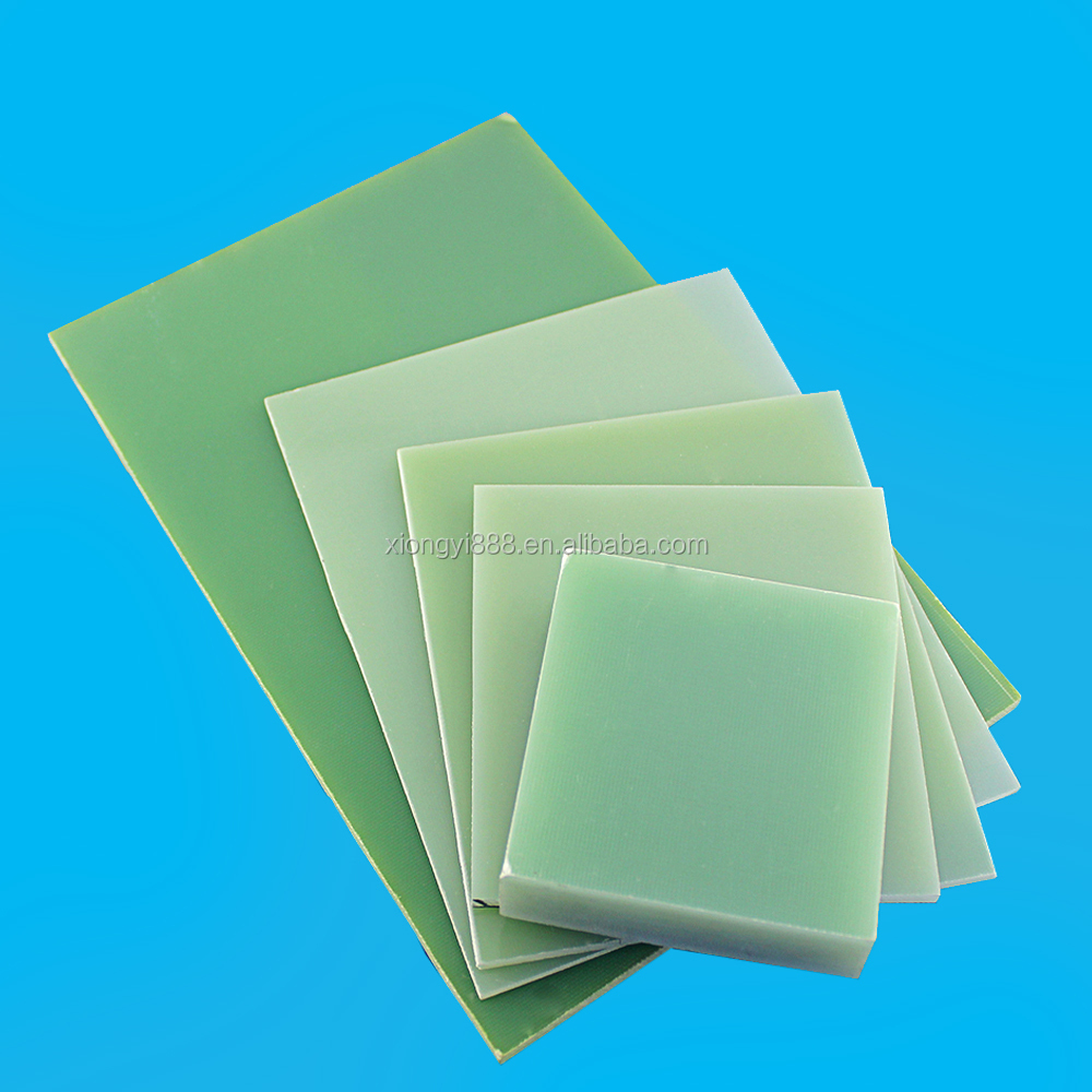 light green raw materials FR4 /G10 epoxy fiberglass sheet G-