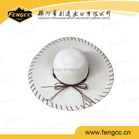 2016 Hot Selling promotional folding straw hat
