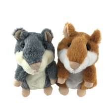 High Quality Talking X Hamster Animals,Wholesale Talking Hamster Repeats Plush Toy For Kids
