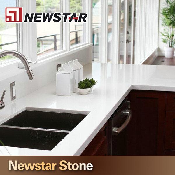 Quartz Countertops Product : Arctic white quartz kitchen countertops wholesale buy