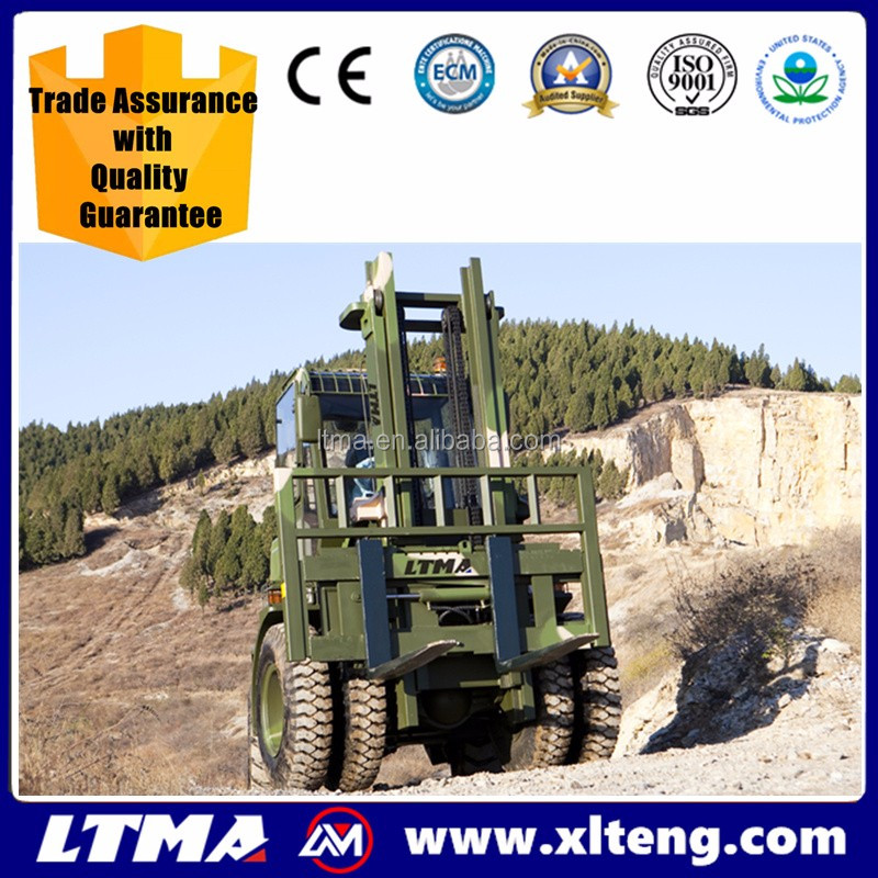 Chinese top quality 5 ton ATV rough terrain forklift