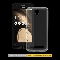 Cell phone accessory 4.5 inch soft tpu mobile phone case for ASUS Zenfone Go ZC451TG