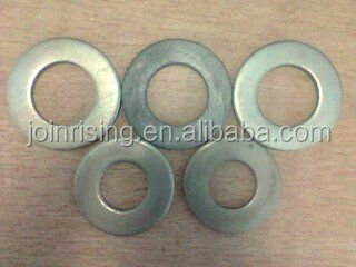 China Mild steel flat washers DIN125A