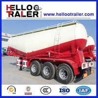 Bulk Cement Lime Powder Tank Semi Trailer for transport