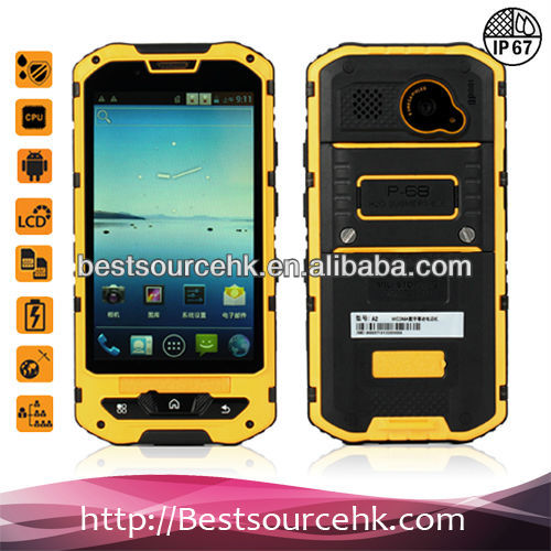 New Arriving! 2013 newest waterproof mobile phone rugged android phone