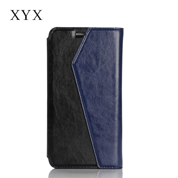 high quality durable leather cell phone case for oppo r831k, flip cover for oppo r 831 k cases