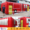 firefighting car shape inflatable fire drill tent for firefighting practice BG-A1051