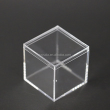 Wholesale Clear Plastic Food Boxes Acrylic Candy Box Acrylic Chocolate Display Box