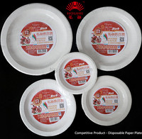 Disposable Food Grade Paper Plates