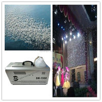 Big Stage special effect Snow Machine, 1500W Artificial Snow Effect maker,stage equipment