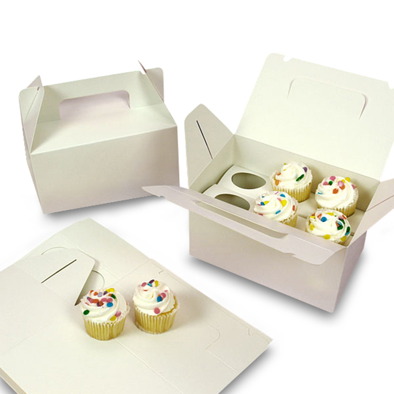 wholesale cardboard paper custom design box cupcake