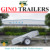 Single axle hot dip galvanised Gravity Tipping Trailer