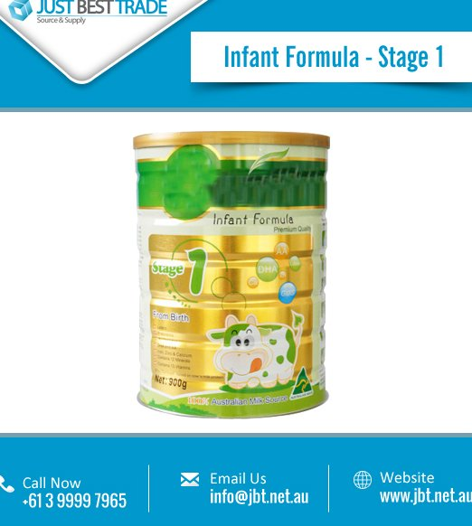 Superior Quality Infant Formula Milk Powder Available in Can Packing