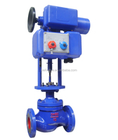 Motorized Regulating Double Seat Flange Control Valve