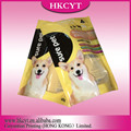 High Quality Stand up Pet Food Ziplock Plastic Packaging Bag