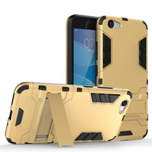 2 in 1 pc tpu hybrid kickstand iron man case cover for vivo y53 back cover