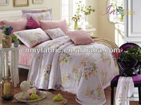 2015 HOT SALE 100% Tencel Printed Bedding Sets/Hotel Linen/Bed Sheet Fabric