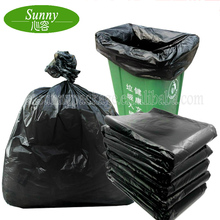 Henan Luohe Plastic Manufacturers Industrial Heavy Duty Flat Huge Cleanup Garbage Refuse Bag