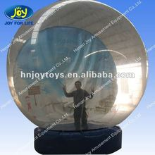 Xmas / Christmas decor Inflatable Snow Globe for Decoration & Promotion