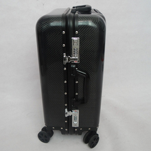 Hot selling carbon fiber suitcase customized design OEM factory