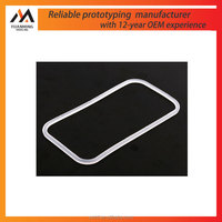 Factory good quality lucency rubber frame parts rubber rapid prototype in Suzhou