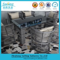 Sailing Wholesale Bali Rattan Luxury Used Hotel Outdoor Furniture For Sale