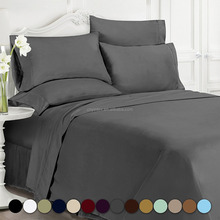 Crisp Look and Buttery Soft feel Durable Hypoallergenic Egyptian Microfiber Bed Sheet Set