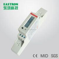 SDM120C, single phase energy monitor, power quality meter, Power analyzer, RS485