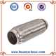 Universal flexible exhaust pipe muffler for global market