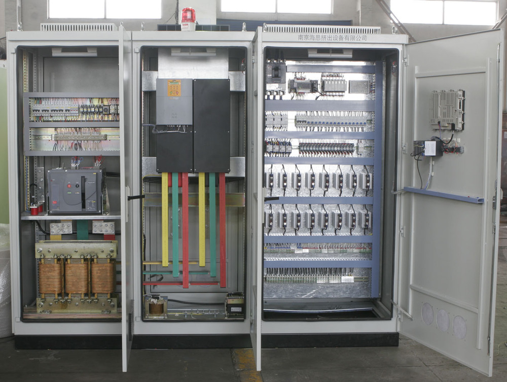 haisi high quality plc electrical control cabinet for twin