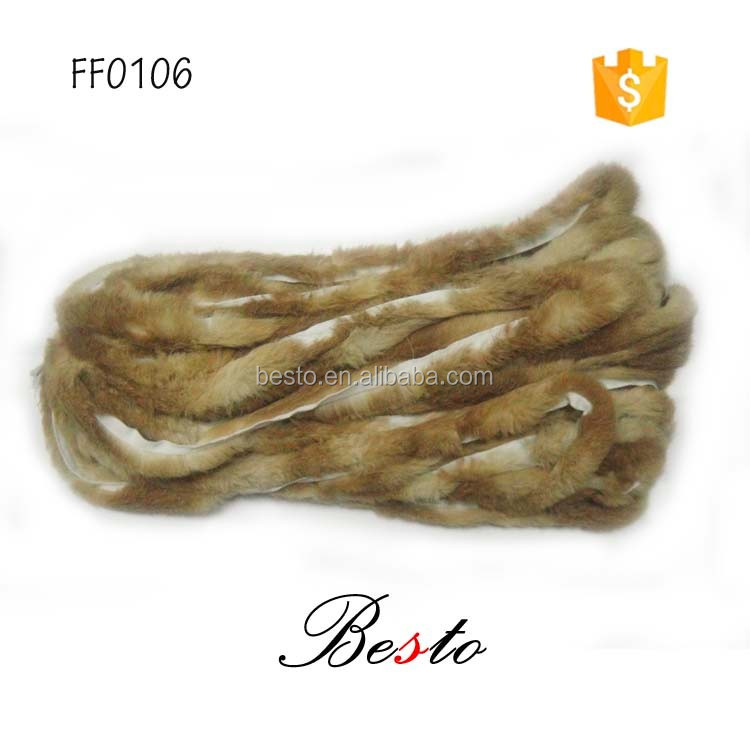 Cheap wholesale brown color DIY artificial feathers boa for scarf/hat/garment