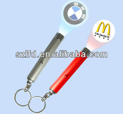 2014 Novely !promotional keychain led light , jerusalem souvenir gifts custom led key chain light , led torch flashlight ring