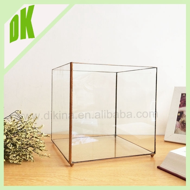 ALL~ Crystal Octagon garland Glass bubble candle holder terrarium chandelier decoration