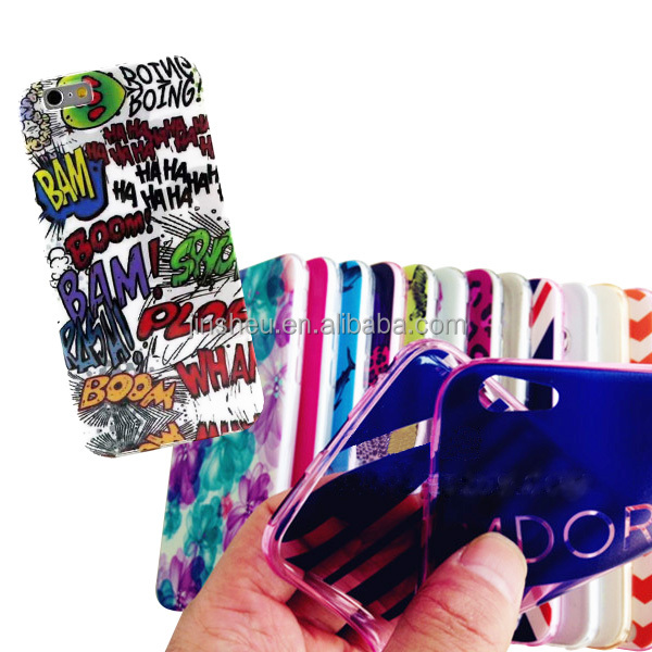 Promotional Custom Silicone TPU PC Material Cheap Mobile Cell Phone Skin
