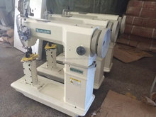 USED SECOND HAND SIRUBA R718-02 POST BED SEWING MACHINE