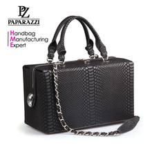 3348 Hot Style Top Quality Fashion Python Tote Bags Snake Leather Handbags Manufacture