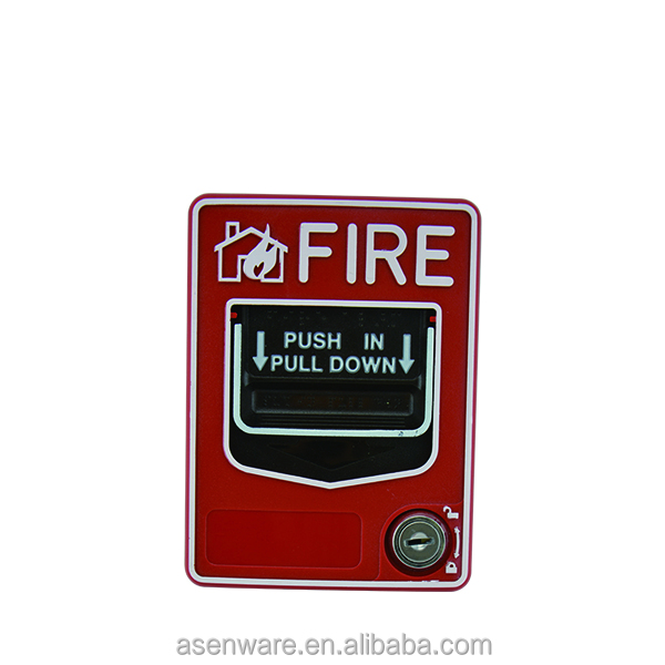 Fire Fighting Remote Indicator Fire Call Point Connect with Siren