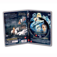Best DVD black case jewel packing box with traycard offset printing