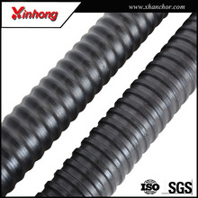 Low Price steel material and foundation self drilling rock bolt for Underground Mining