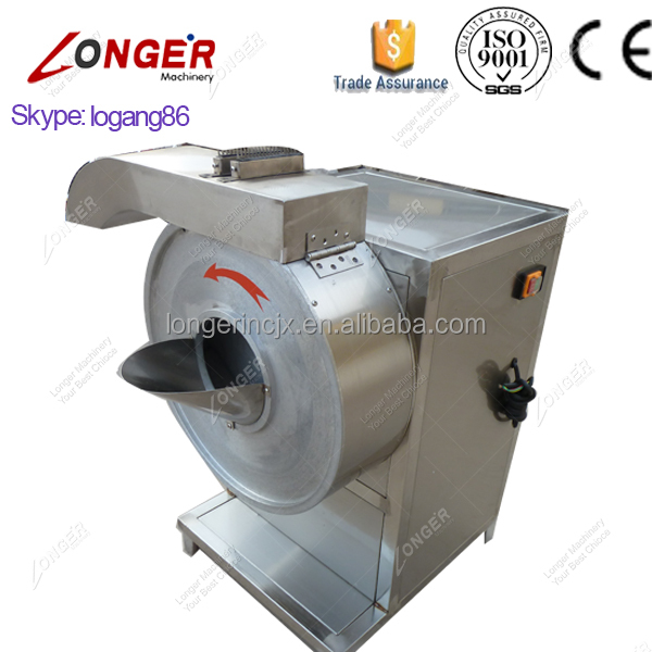 Factory Price Potato Chips Slicing Machinery Vegetable Carrot Cassava Slicer Potato Chips Cutting Machine