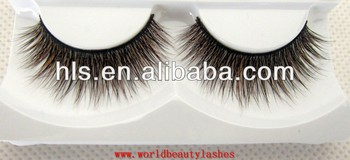 Beautiful fox fur mixed with Siberian fur eyelash