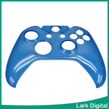 Plastic Crystal Pattern controller Cover skin Protector for Xbox One (blue)