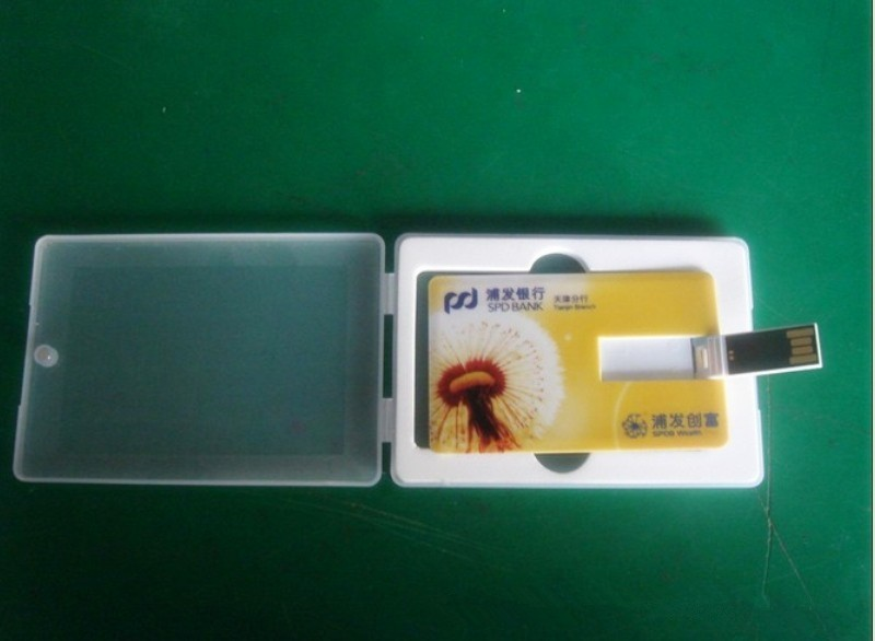 Wholesale credit card shaped usb flash drive
