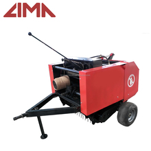 2017 new design small round shaktiman baler machine with high quality