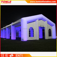 Giant Outdoor white Inflatable weeding Tent, Inflatable Marquee, Inflatable Cabin Tent for sale