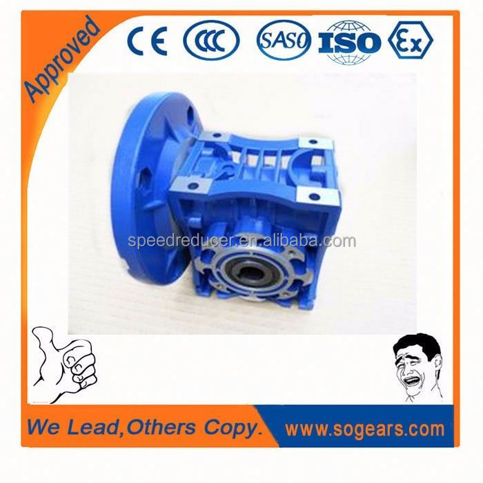 Advanced Hollow output bores worm gear reducer gear motor
