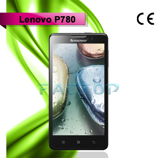 lenovo p780 dual sim card dual standby with CE certificate RAM 1GB ROM 4GB mobile phone traductor espanol