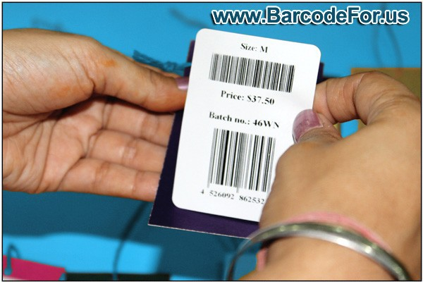 Barcode Designer Application for Inventory Control