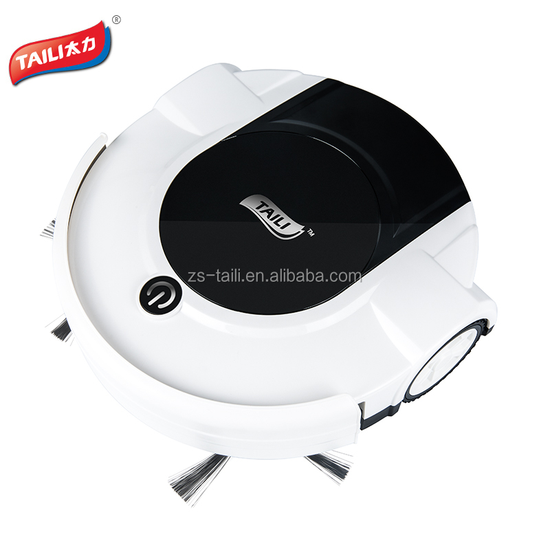 2018 New model intelligent easy home Portable robot vacuum <strong>cleaner</strong> with super power battery