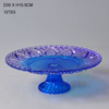 wholesale glass cake plate high quality glass cake plate